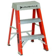 <strong>Louisville Ladder</strong> FS1500 Series Fiberglass Step Ladders - 2' advent folding step ladder type ia