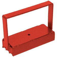 heavy duty handle magnet 150lbs red