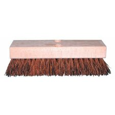 "Deck Scrub Brushes - 12"""" palmyra deck brushes"