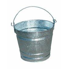 Galvanized Pails - 2qt galvanized mini pail(bar code 70004) (Set of 12)