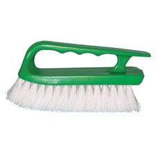 Handle Scrub Brushes - crimped white polypropylene handle scru (Set of 12)