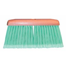 Feather-Tip Household Floor Brooms - household broom w/a48 343b3d feather-tip (Set of 12)