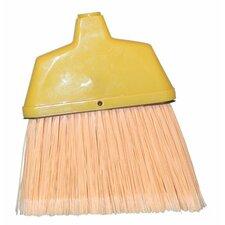 Angle Brooms - large angle broom creamplastic w/ab-48 handle