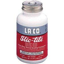 Slic-Tite® Paste Thread Sealants w/PTFE - 1/4pt. bic slic-tite paste w/PTFE