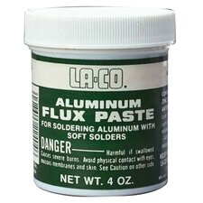 Aluminum Flux Paste - ma alum flux 4 oz.