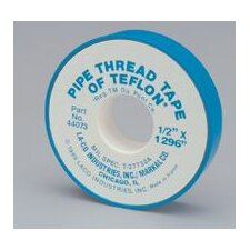 "1/4"" X 520"" LA-CO® Markal® PTFE Standard Grade Pipe Thread Tape (Set of 144)"