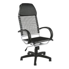<strong>Eurostyle</strong> Bungie High-Back Flat Executive Office Chair with Arms