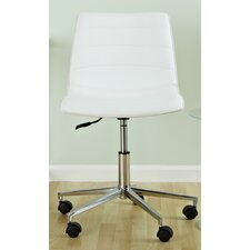 Ashton Low-Back Leatherette Office Chair