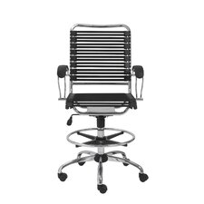 Bungie High-Back Office Chair with Flat J-Arm and Ring