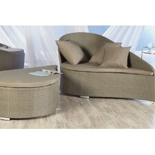 Lavinia Lounge Chair and Ottoman with Cushion