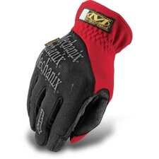 Gloves Fast Fit Red Large