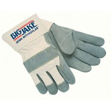 Heavy-Duty Side Split Gloves - big-jake leather palm gloves extra large