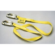 "Positioning & Restraint Lanyards - lanyard 7/8"" nylon webbing w/locking s"
