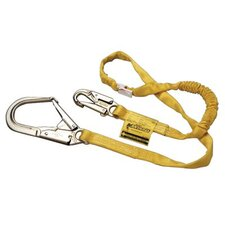 Manyard® Shock-Absorbing Lanyards - 6' manyard shock absorber w/locking snap & 1-3/