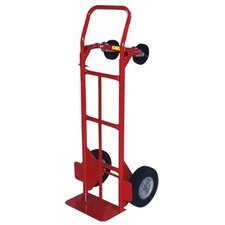 "<strong>Milwaukee Hand Trucks</strong> Convertible Hand Trucks - convertible truck w/10""ace-tuff wheels & 5"""