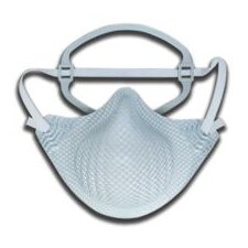 EZ-ON® N95 Particulate Disposable Respirator With Dura-Mesh® Shell - NIOSH 42CFR84 (10 Per Bag)