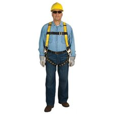 Workman® Harnesses - workman harness vest stdtwbkl lgstp 3d-ring