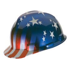 Freedom Series™ Helmets - cap v-gd std amer.flag stripe rtch