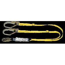 Leg Workman™ Shock Absorbing Lanyard With 2 GL3100 Anchors