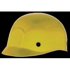 Polyethylene Bump Cap With Perforated Sides To Allow Cross Ventilation For Better Air Circulation