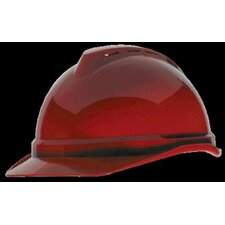 V-Gard® Advance Class C Type I Polyethylene Vented Hard Cap With Fas-Trac® 4 Point Suspension And Glaregard™ Underbrim