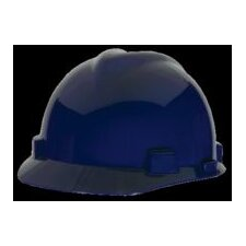 Blue V-Gard® Class E, G Type I Polyethylene Standard Slotted Hard Cap With Fas-Trac® Suspension