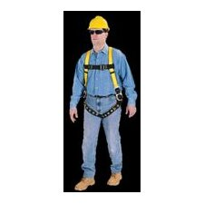 Vest Style Harness With 2 Side D Rings And Tongue Buckles