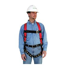 Large Harness FP Pro Vest With Hip D-Ring & Tongue Buckle Leg Straps