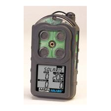 Deluxe Multigas LEL, O2, H2S And CO Detector Kit With Datalogging Option, Econo-Cal Calibration Kit And Sampling Pump