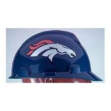 V-Gard® Type I Hard Cap With 1-Touch™ Suspension, Denver Broncos Logo And Adjustable Strap