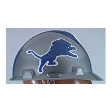 V-Gard® Type I Hard Cap With 1-Touch™ Suspension, Detroit Lions Logo And Adjustable Strap