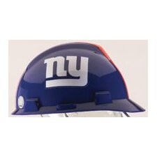V-Gard® Type I Hard Cap With 1-Touch™ Suspension, New York Giants Logo And Adjustable Strap