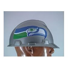 V-Gard® Type I Hard Cap With 1-Touch™ Suspension, Seattle Seahawks Logo And Adjustable Strap