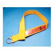 X 5' Polyester Anchorage Connector Strap With D-Ring And Sewn Loop