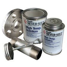 Never-Seez - High Temperature Stainless Lubricating Compounds V176208 High Temp Stainless Brush Top 8Oz: 535-Nssbt-8 - v176208 high temp stainless brush top 8oz