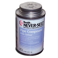 <strong>Never-Seez</strong> Pipe Compound With PTFE® - 8oz.brush top pipe compound w/PTFE