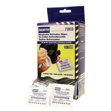 Respirator Cleaning Wipes - respirator refresher wipe pads (100/box)