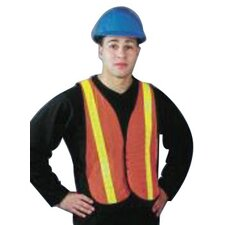 Omni-Brite™ Reflective Vests - hi-viz orange traffic vest