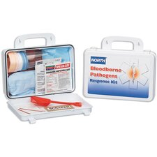 <strong>North Safety</strong> Unit Bloodborne Pathogen Response Kit With CPR