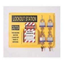 Complete Lockout Station Includes: -4 3D, -1 ELA290