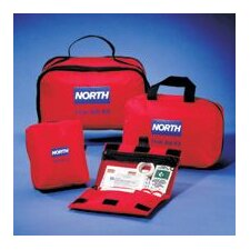 "Redi-Care 8 3/4"" X 6"" X 2 3/4"" CPR Barrier First Aid Kit"