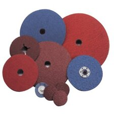 "NorZon Plus Speed-Lok Coated-Fiber Discs - 7x7/8""f826 norzon speedlock fibre disc"