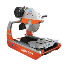 "15 Amp 1.5 HP 14"" Blade Capacity 14"" Blade Diameter BBM Mini Masonry Saw with Heavy Duty Motor"