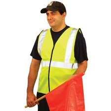 Economy Single Band Vest - 3x occulux economy vest:yellow