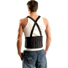 Mustang Back Supports w/Suspenders - xs mustang back supportw/sus