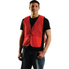 <strong>OccuNomix</strong> Large Orange Mesh Vest With No Reflective Tape