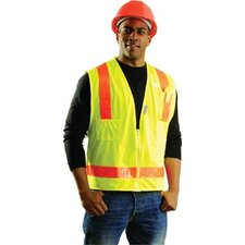 <strong>OccuNomix</strong> Yellow OccuLux® L'Orange Surveyor's Vest With 13 Pockets And Zipper