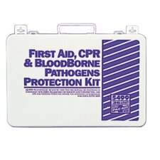 <strong>Pac-Kit</strong> 36 Unit Steel First Aid Kits - 36 unit first aid/bbp kit