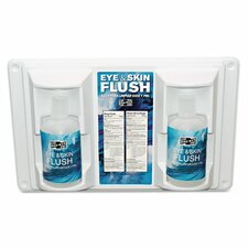Twin Bottle Eye Flush Station (2 Pack)