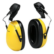 Optime 98 Earmuffs - peltor standard helmet attach.hear. protection